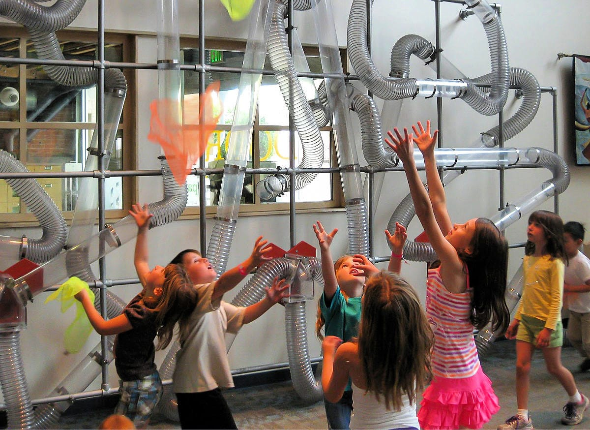 Kids playing at the Phoenix Children's Museum