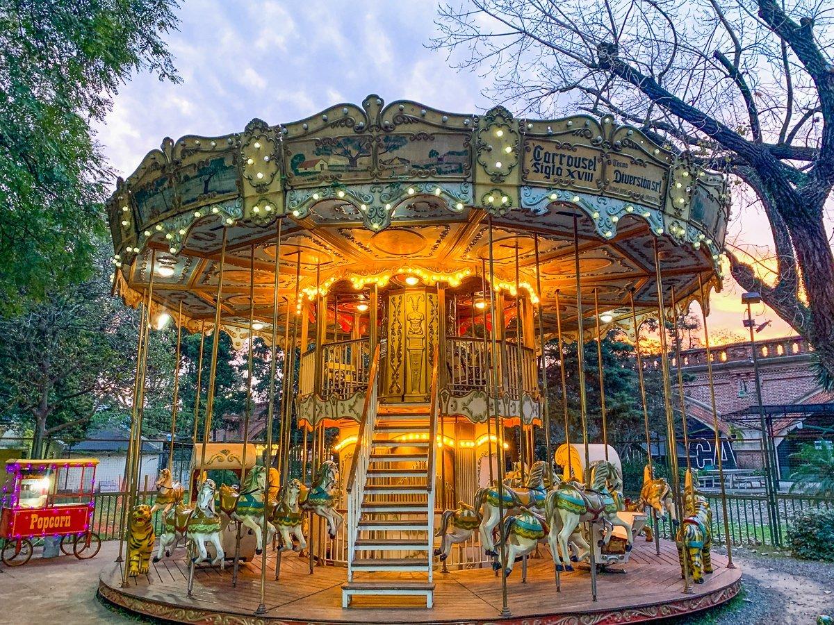 Carousel at Parque 3 Febrero