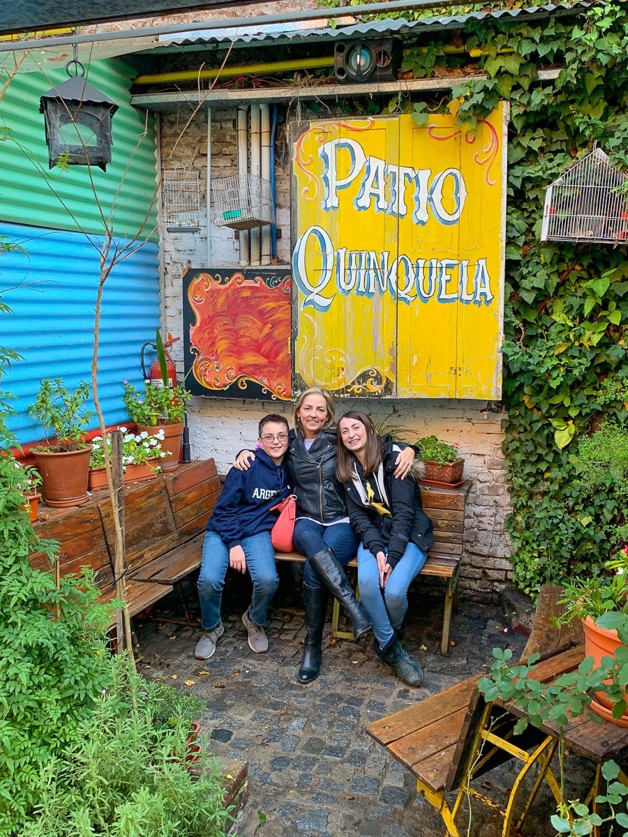 Buenos Aires with kids and teens