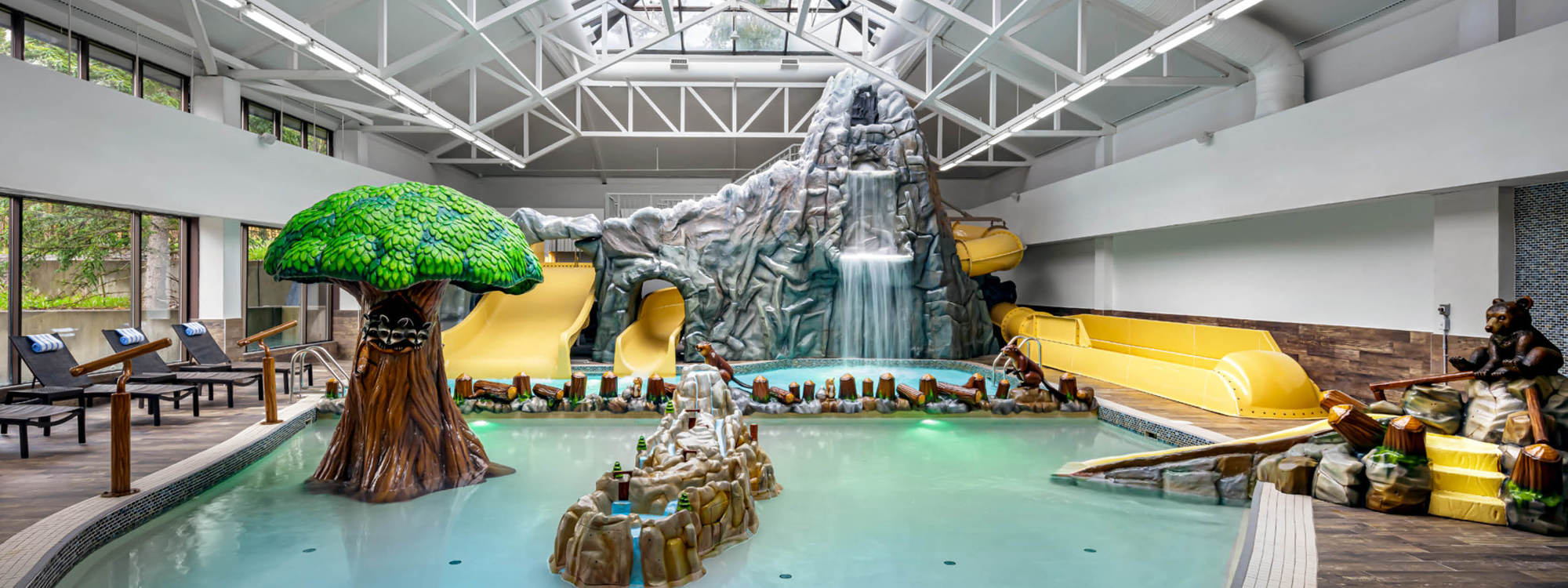 Indoor Waterpark at Pomeroy Kananaskis Mountain Lodge