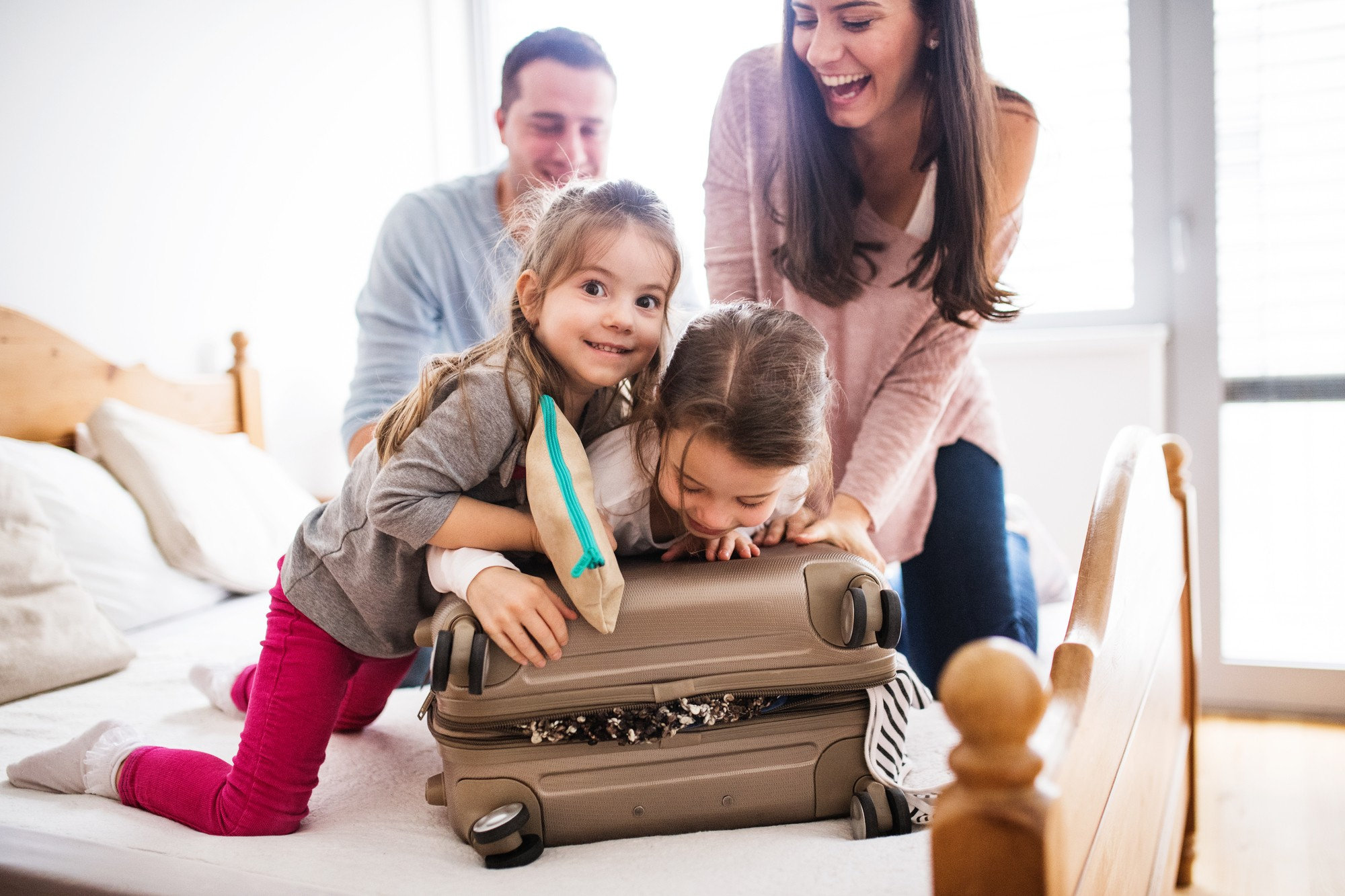 A printable packing list for kids makes preparing for family vacation easier and more fun!