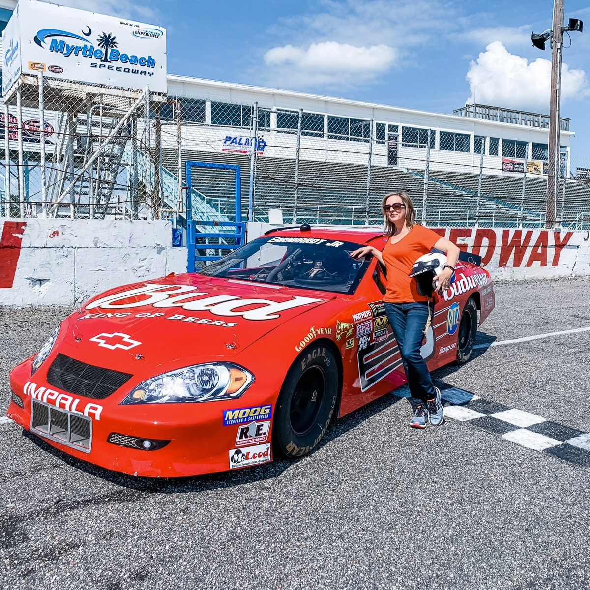 NASCAR Ride Along Experience near Myrtle Beach, South Carolina