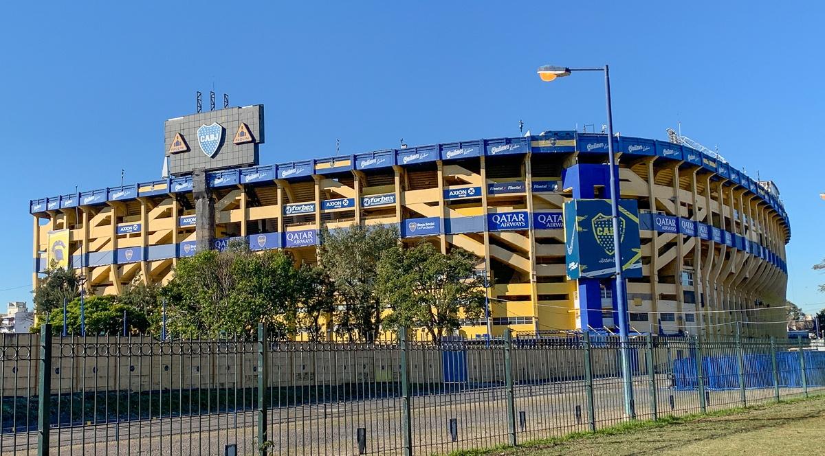 La Bombonera soccer stadium in Buenos Aires
