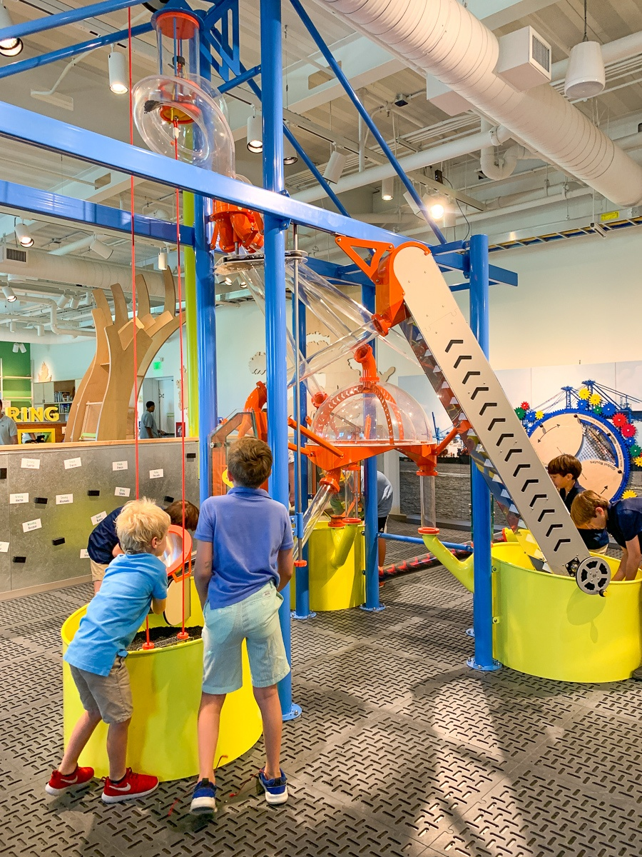 Kids playing at the Louisiana Children's Museum in New Orleans