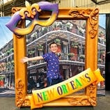 Mardi Gras World, just one of many fun things to do in New Orleans with kids