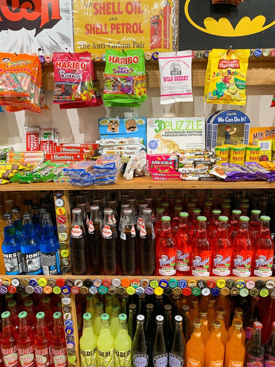 Rocket Fizz Soda Pop & Candy Shop in New Orleans