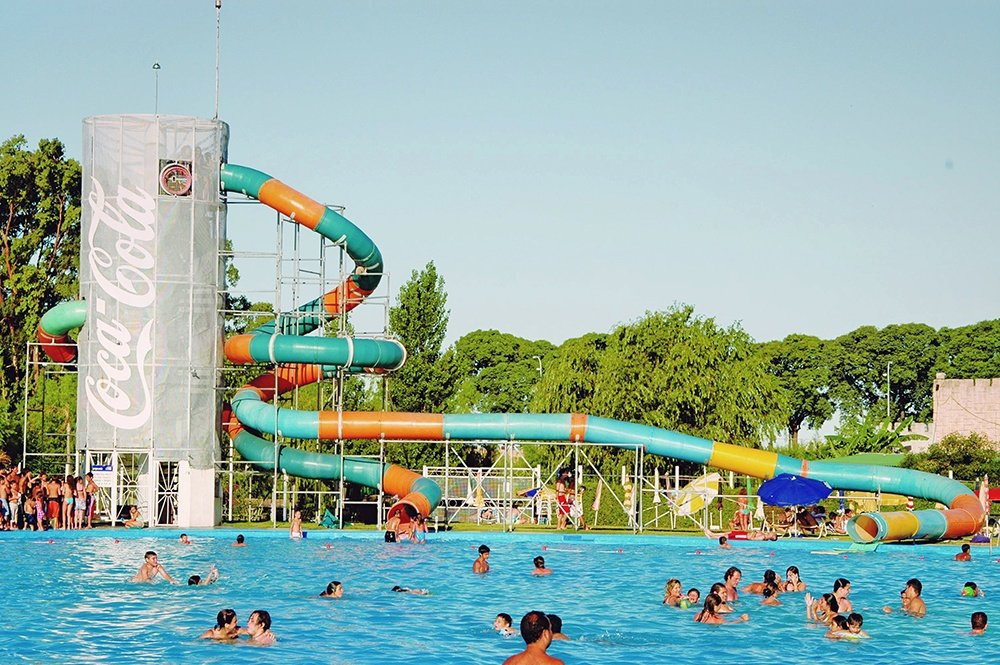 Parque Norte in Buenos Aires with kids