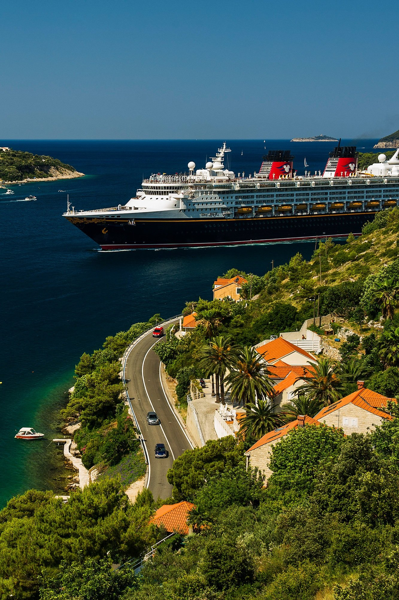 Disney Magic in Dubrovnik, Croatia