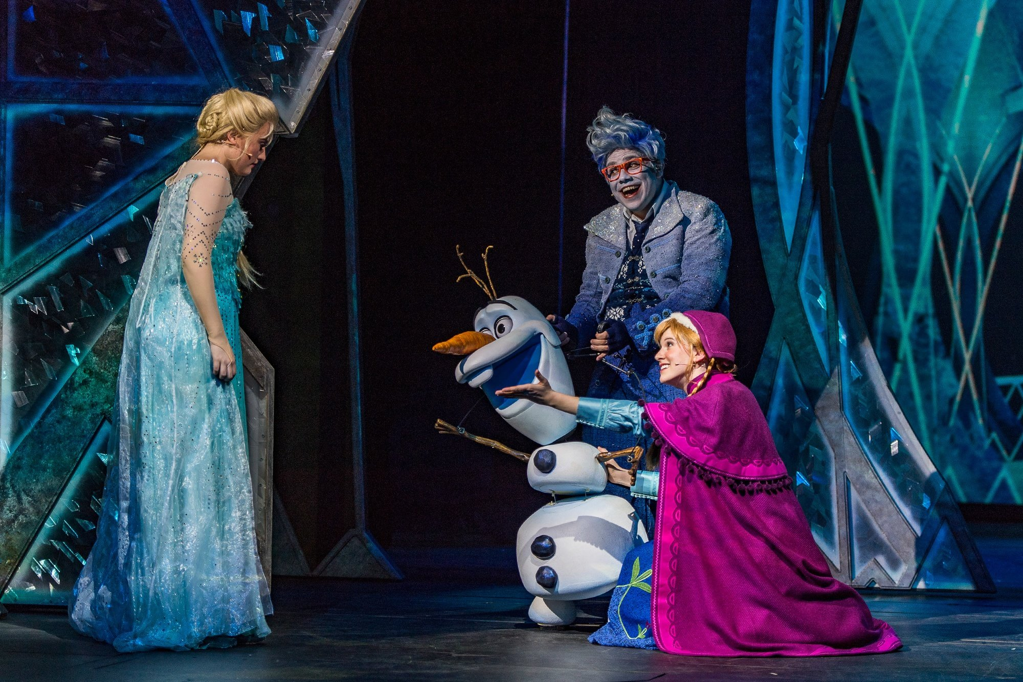Frozen, A Musical Spectacular on Disney Wonder