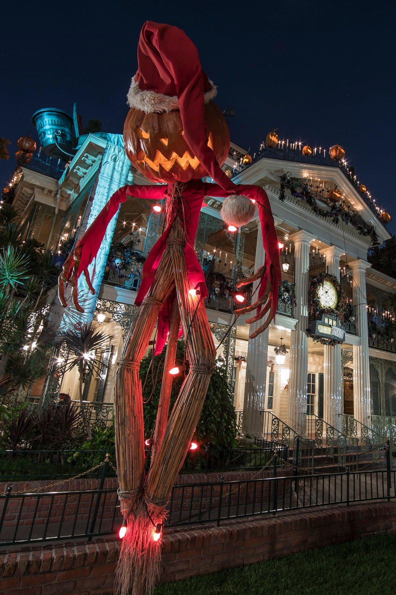 Haunted Holiday during Christmas at Disneyland
