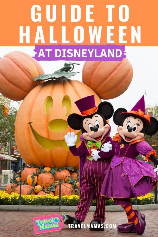 Guide to Halloween at Disneyland