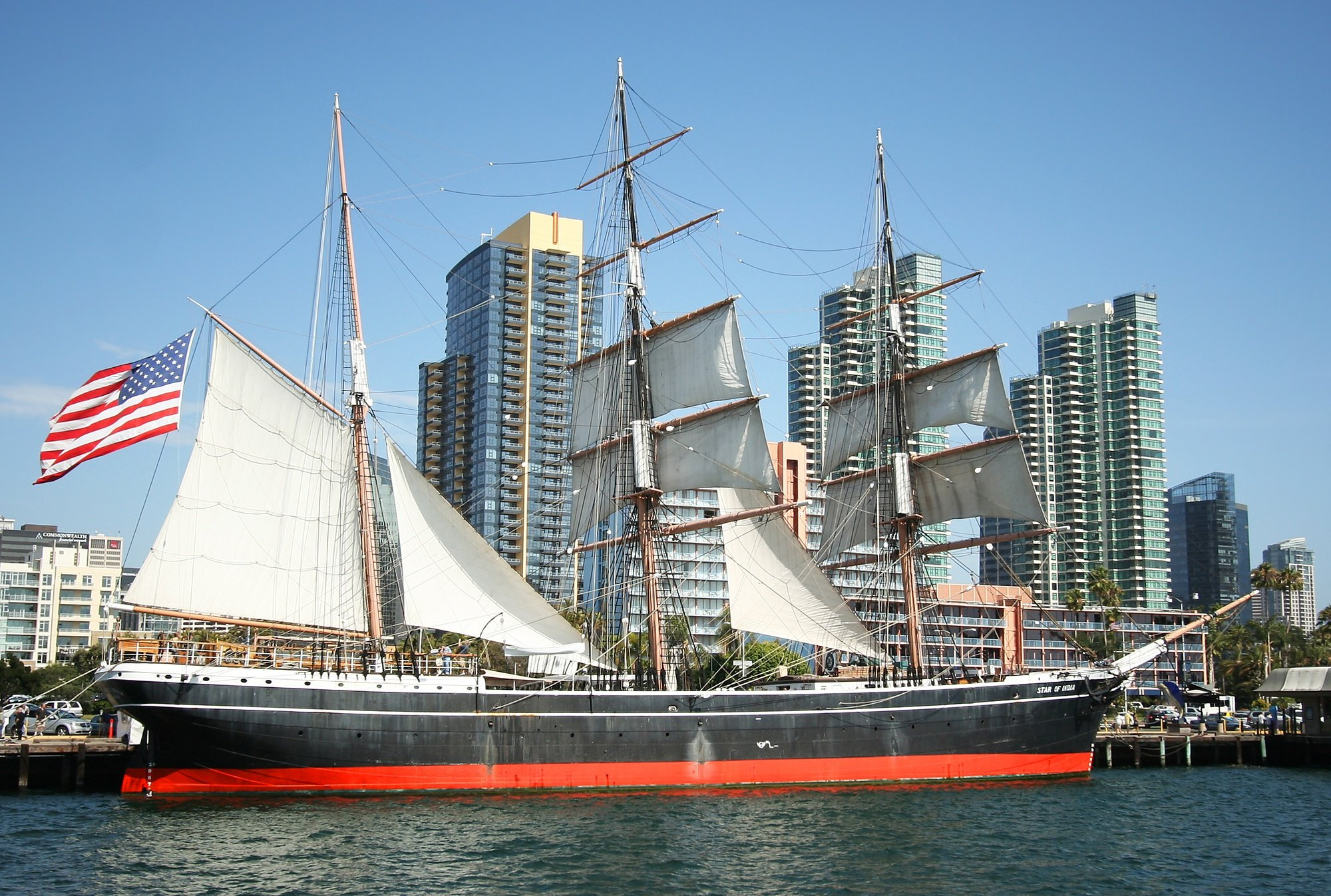 The Star of India at the Maritime Museum