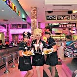Corvette Diner is one of the best restaurants in San Diego for families