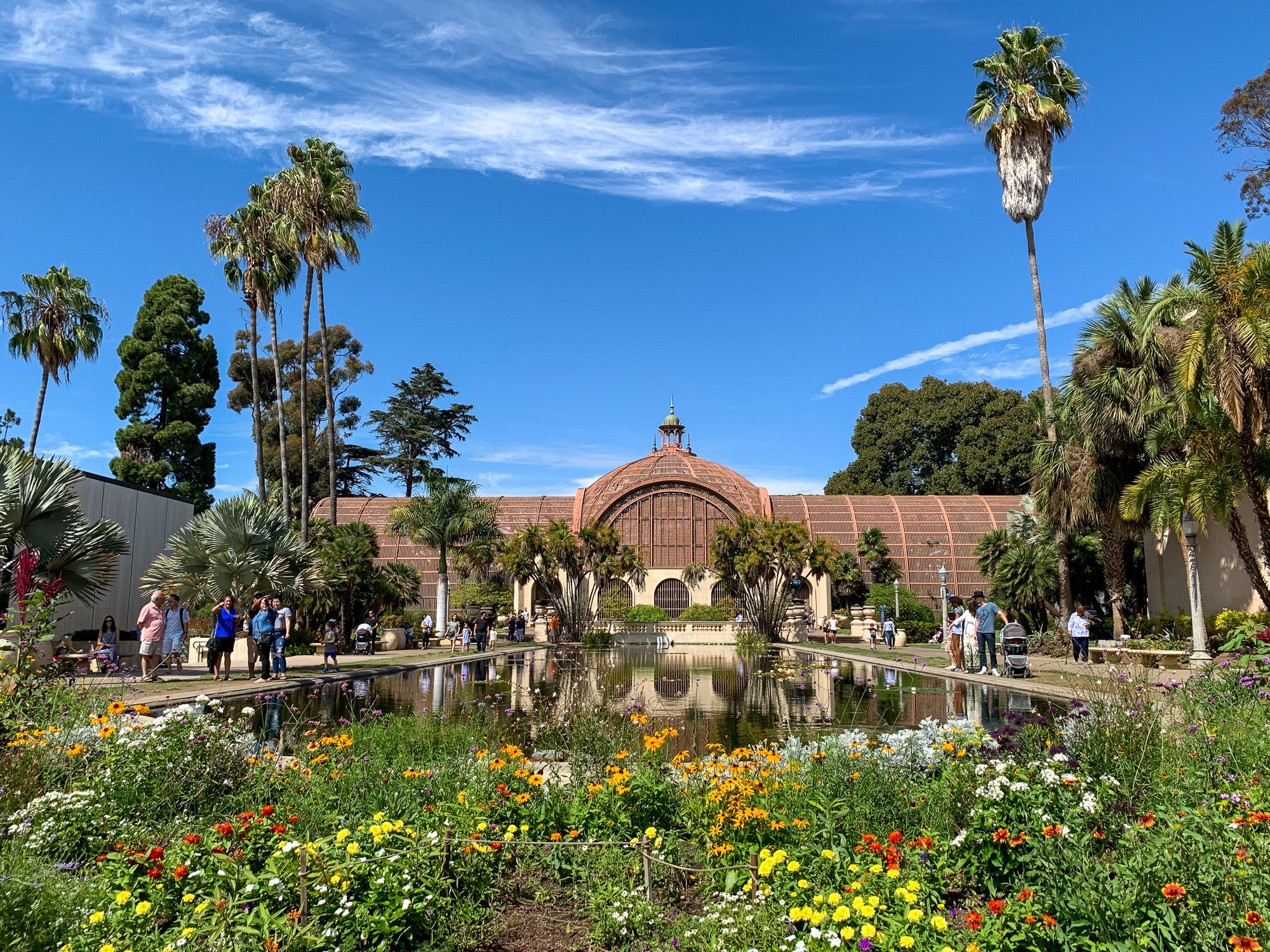 Balboa Park Lily Pond and Conservatory