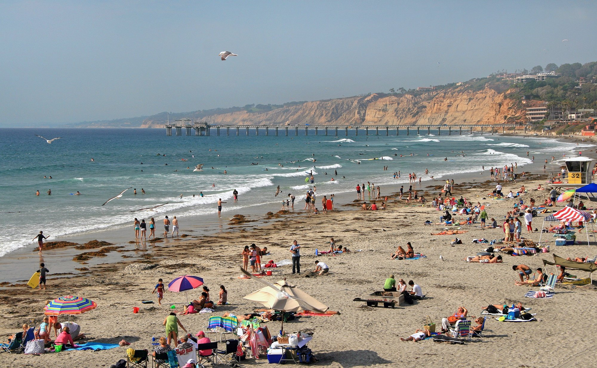 La Jolla Shores Beach in San Diego County