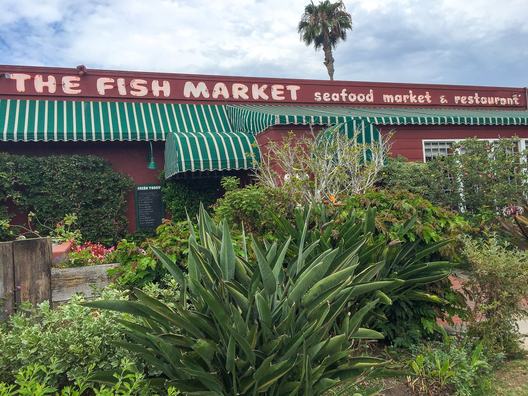 Fish Market in Del Mar, San Diego County