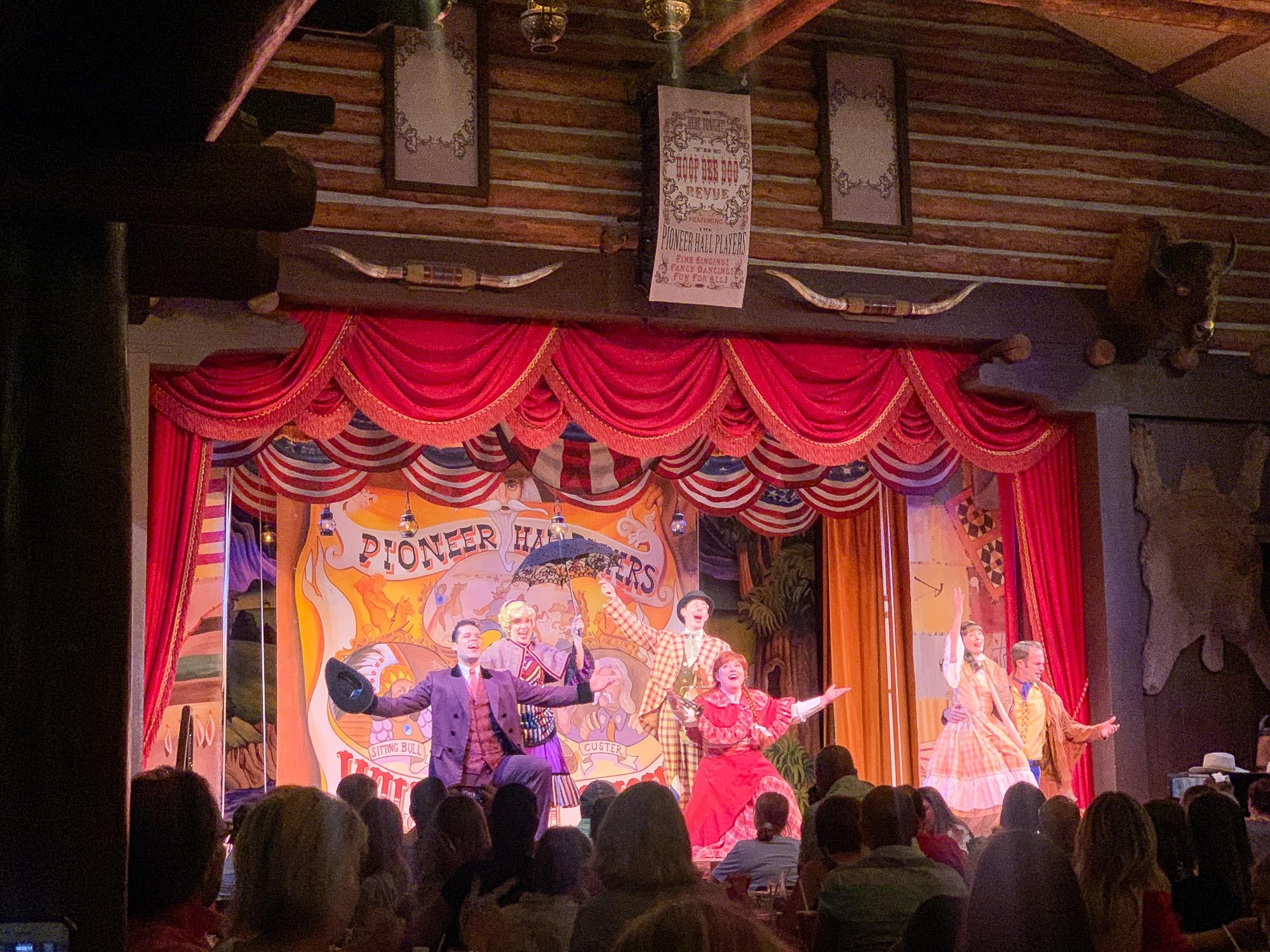 Hoop-Dee-Doo Musical Revue at Disney's Fort Wilderness Resort