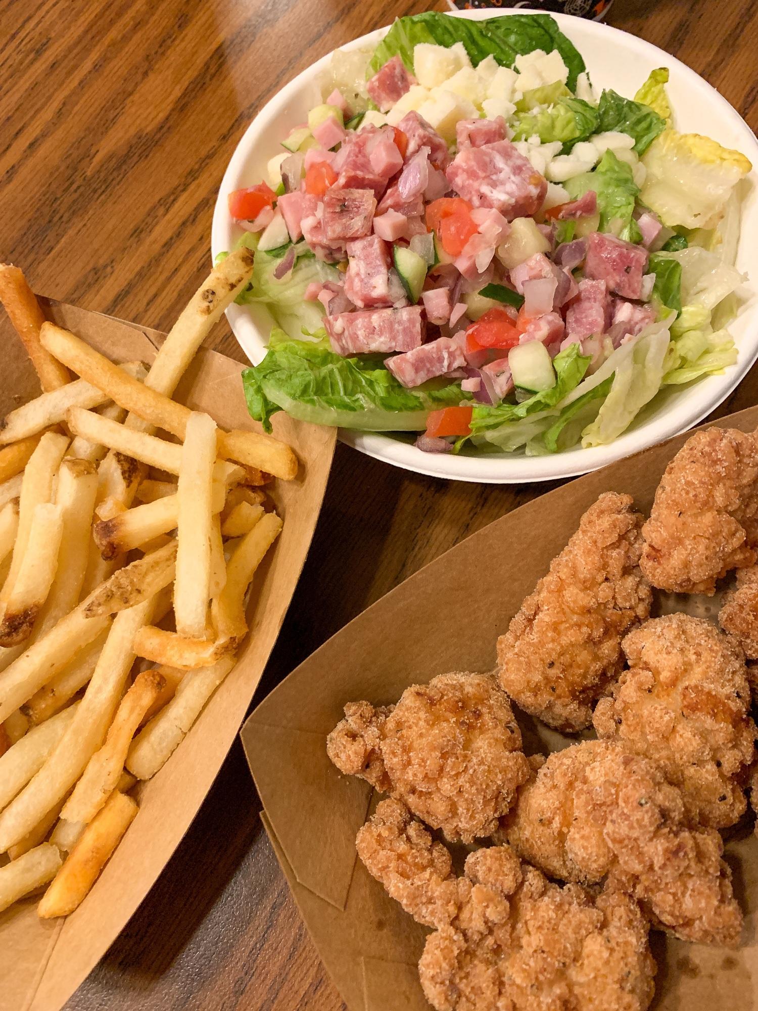 Quick service meal at Walt Disney World
