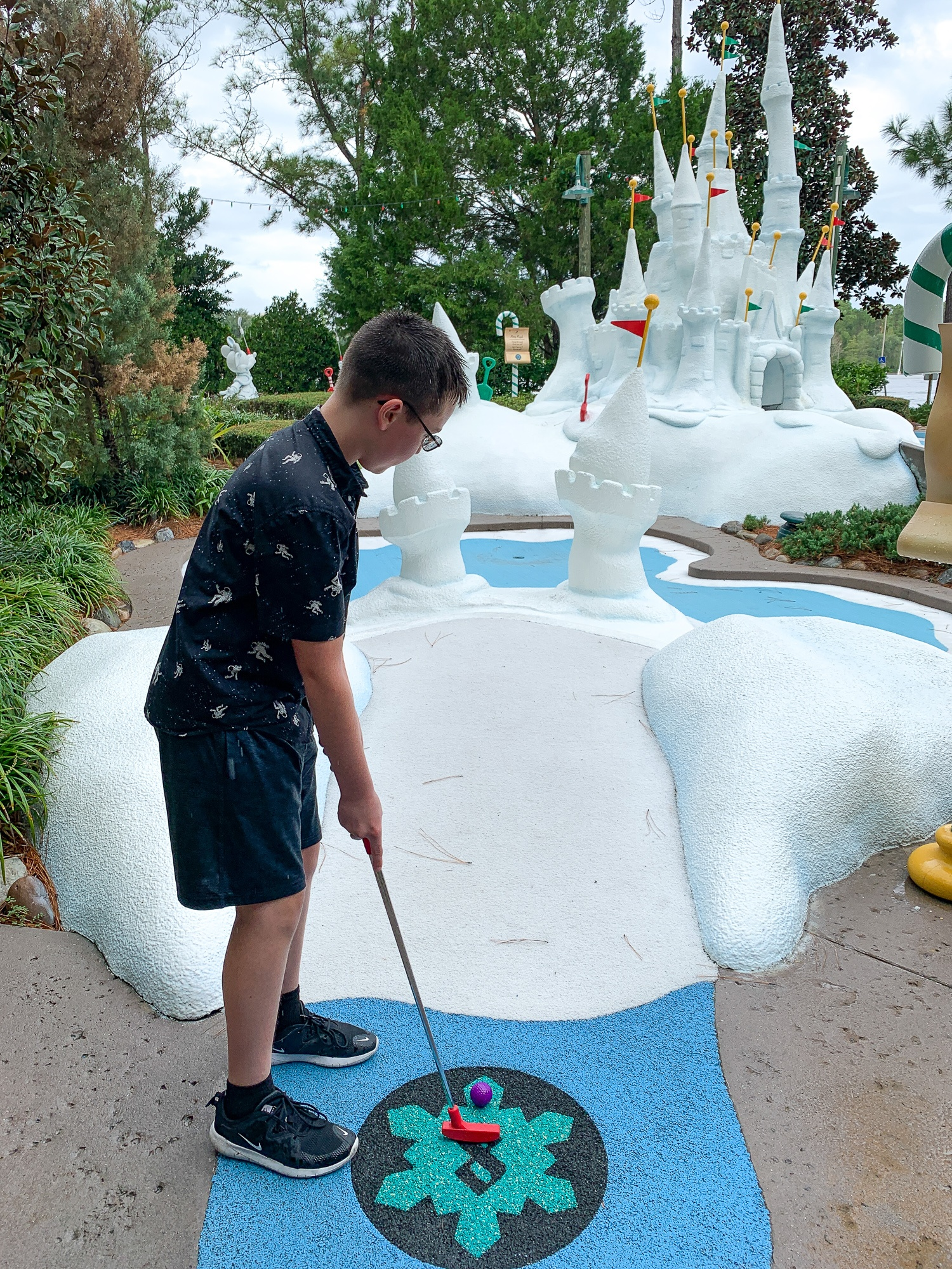 Disney's Winter Summerland Miniature Golf Course