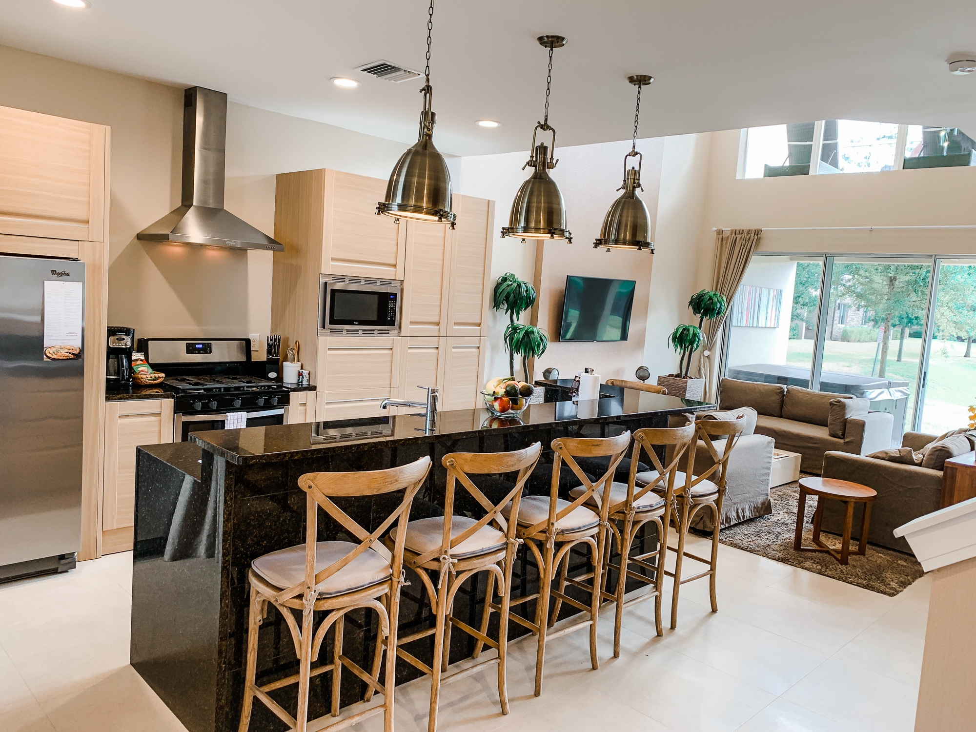 Kitchen at Magic Village Vacation Homes in Kissimmee, Florida near Walt Disney World