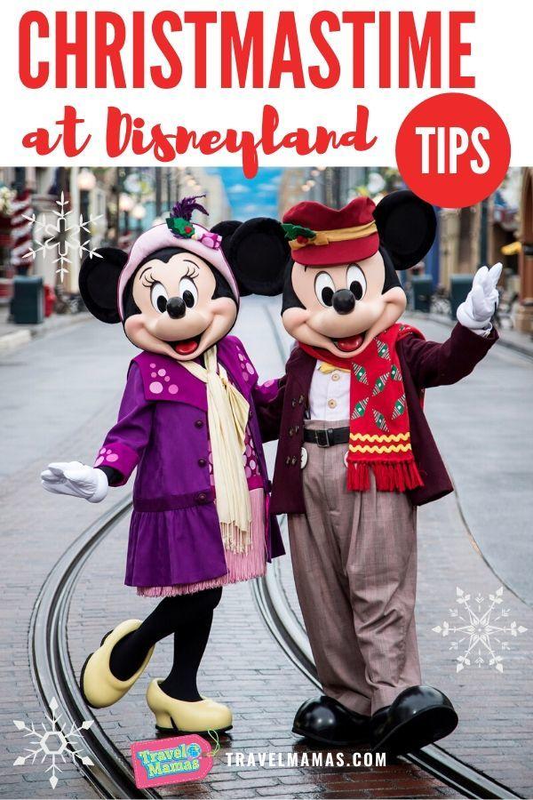 Christmas at Disneyland Tips