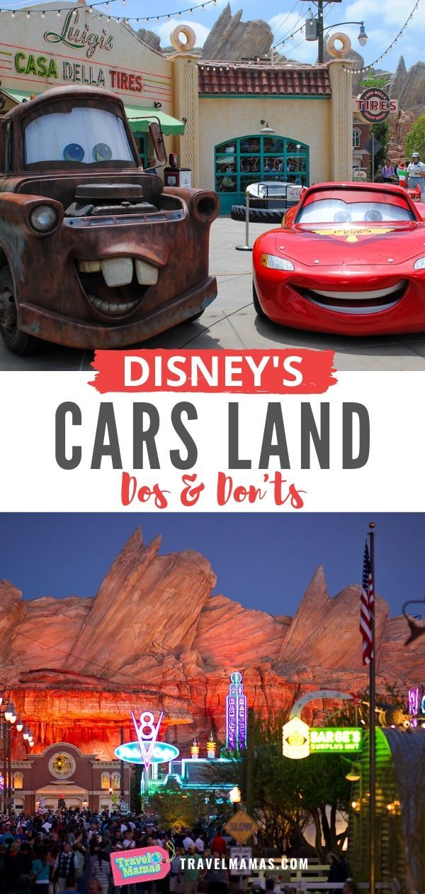 Disney Cars Land attractions and tips