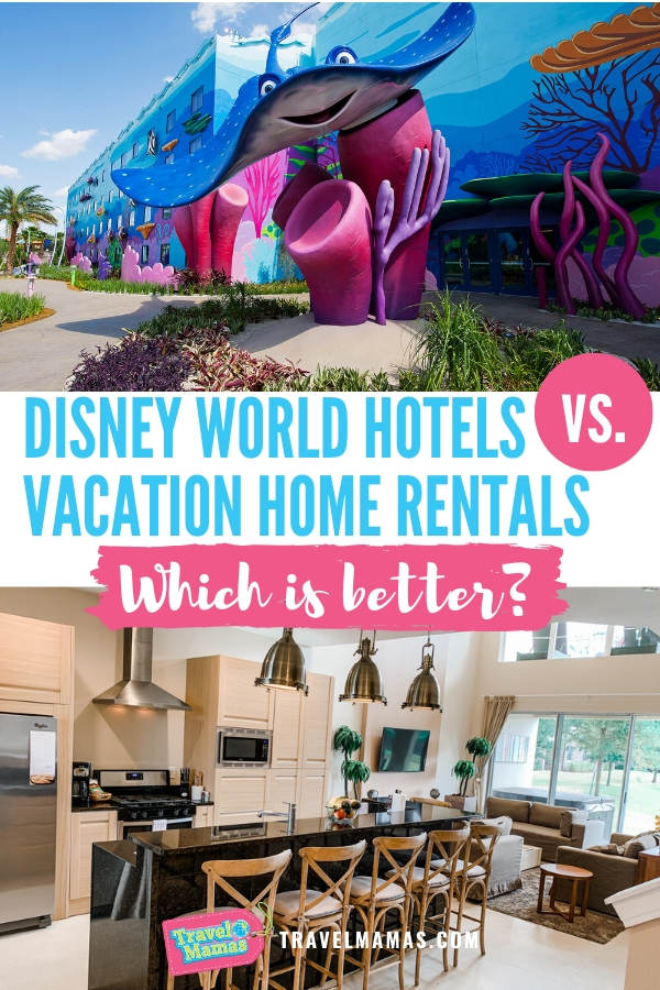 Disney World Vacation Home Rentals Vs. Disney Hotels