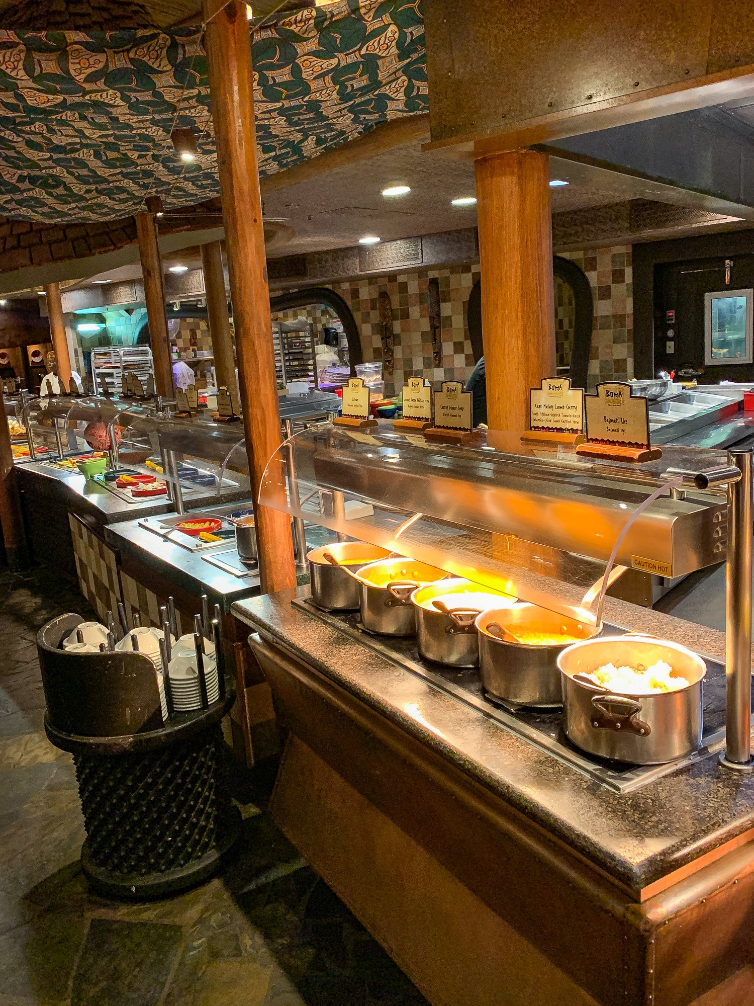 Boma Flavors of Africa buffet at Disney's Animal Kingdom Lodge