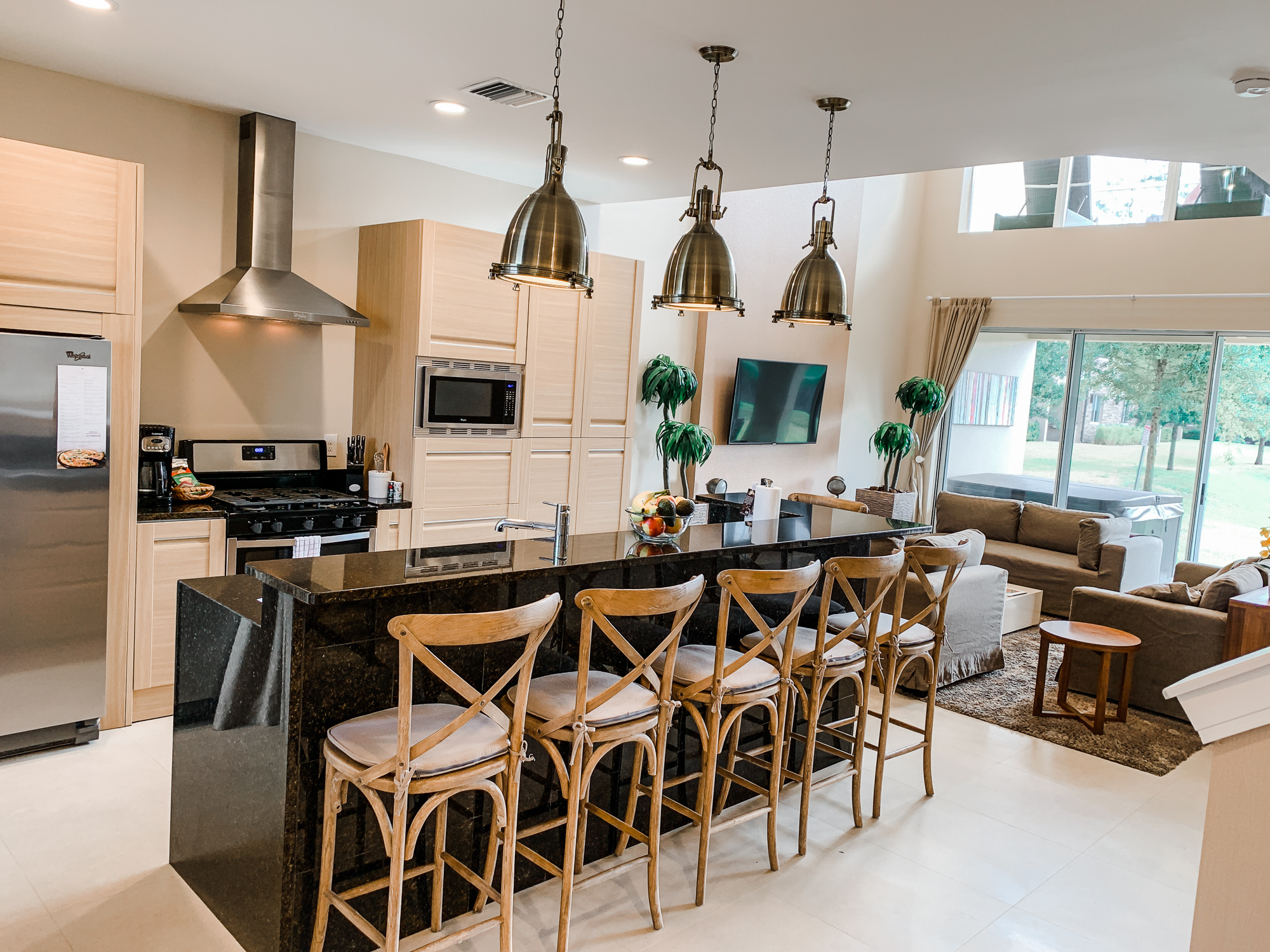Modern kitchen at Magic Village Vacation Homes in Kissimmee, FL