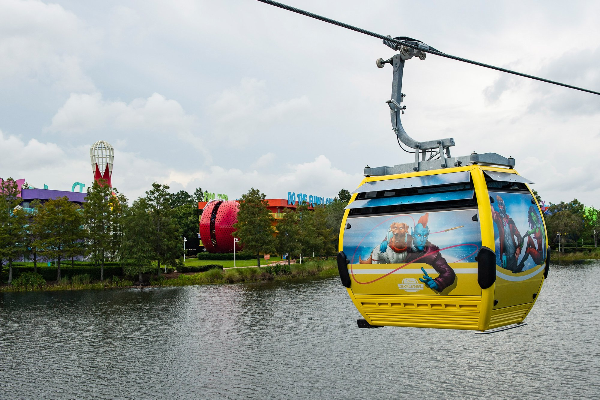 Disney Skyliner transportation