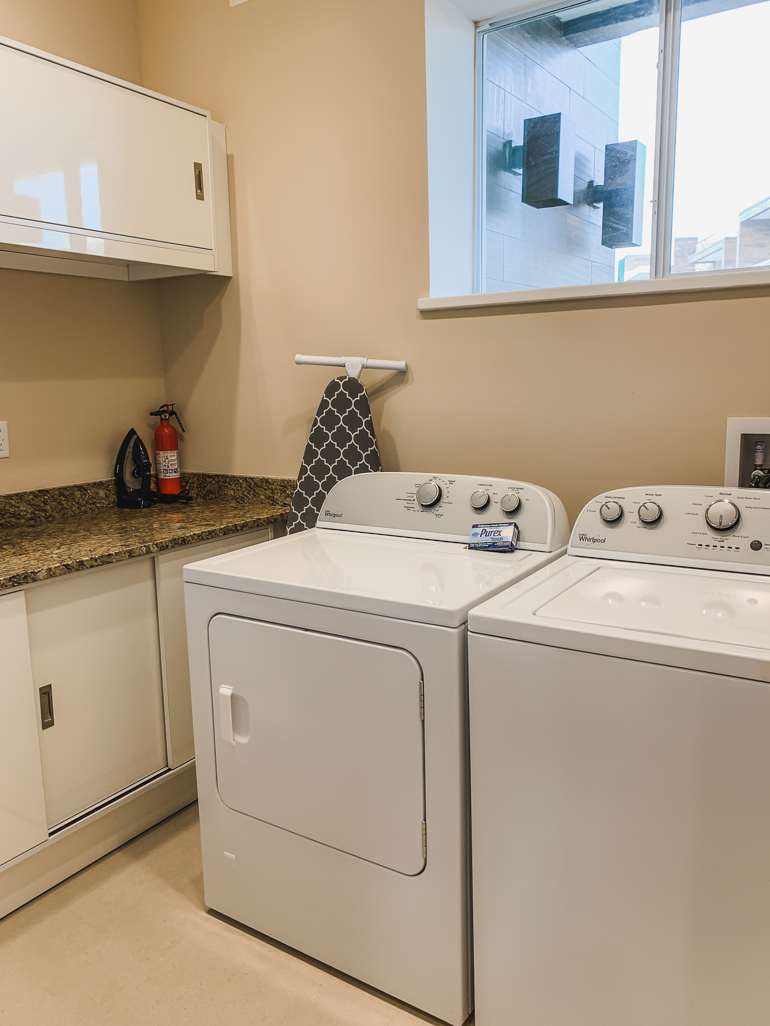 Full-sized washer and dryer at Magic Village Vacation Homes