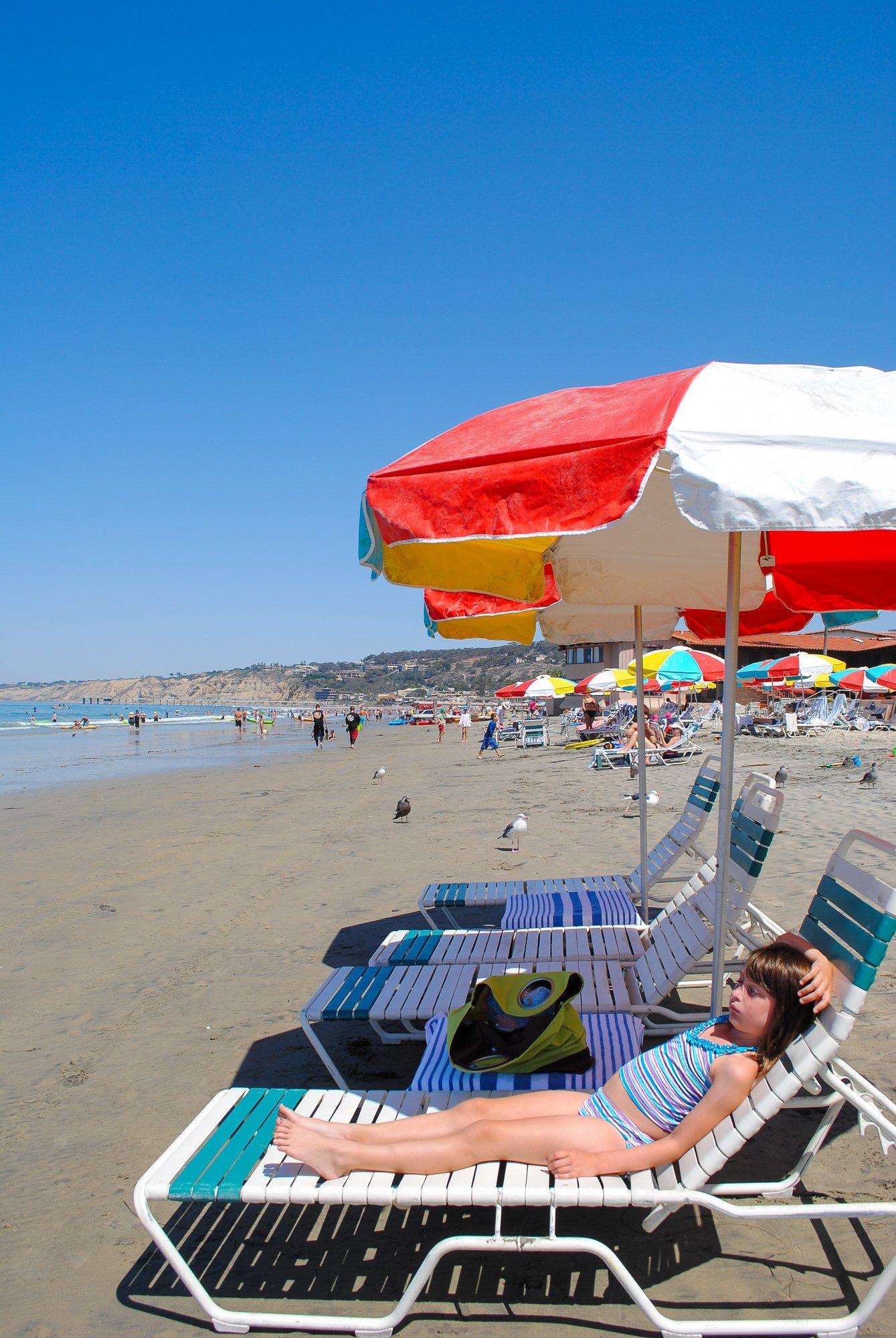 La Jolla Beach & Tennis Club in La Jolla, California is one of the most kid-friendly hotels in San Diego County