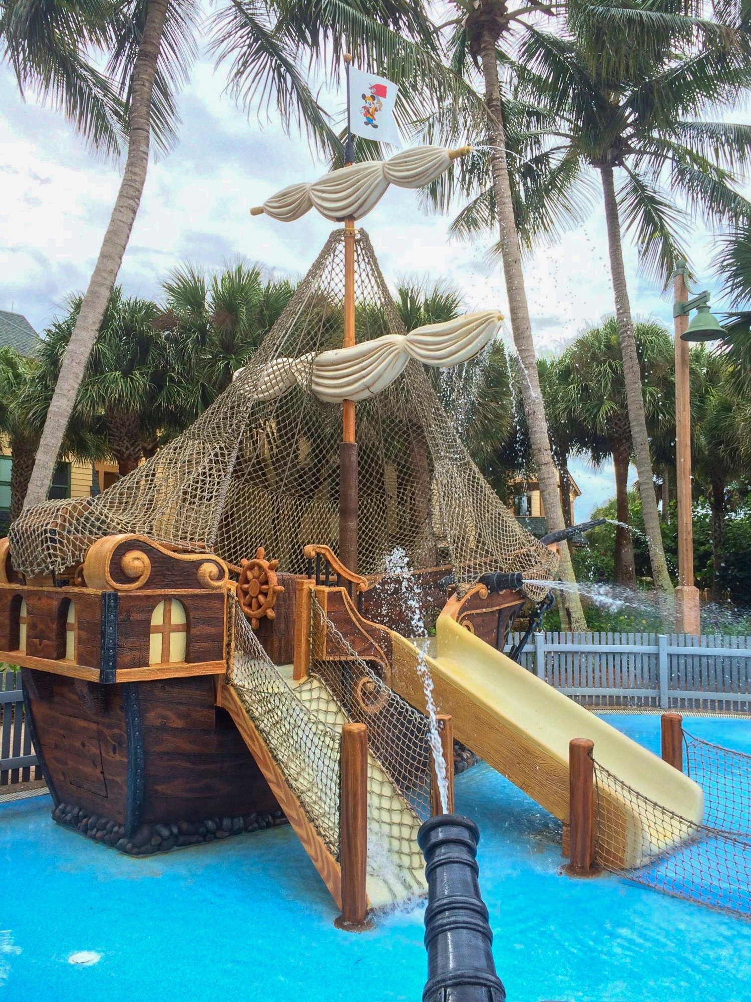 Disney's Vero Beach pirate-themed splash pad