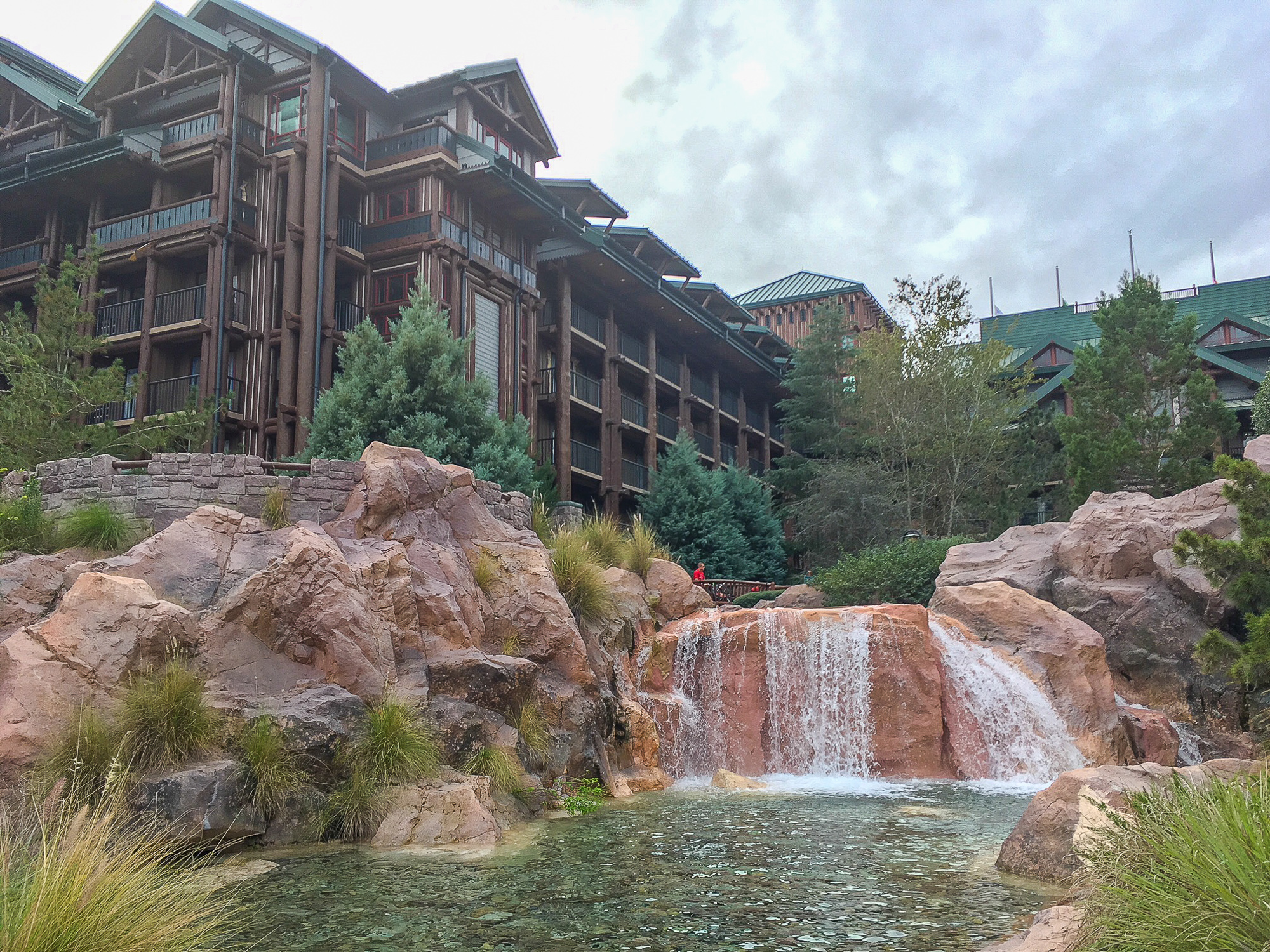 Disney's Wilderness Lodge pool
