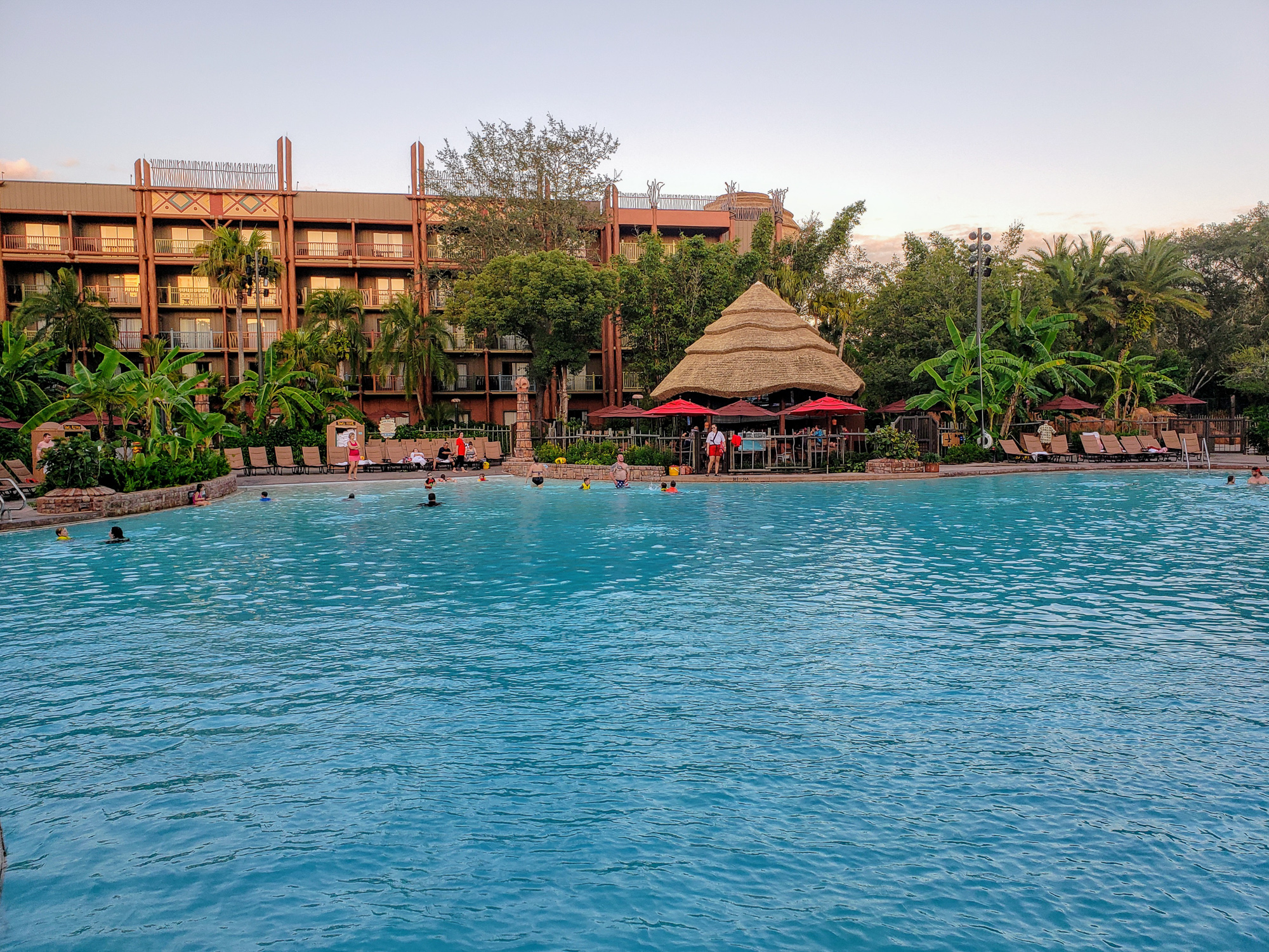 Pool at Disney's Animal Kingdom Lodge