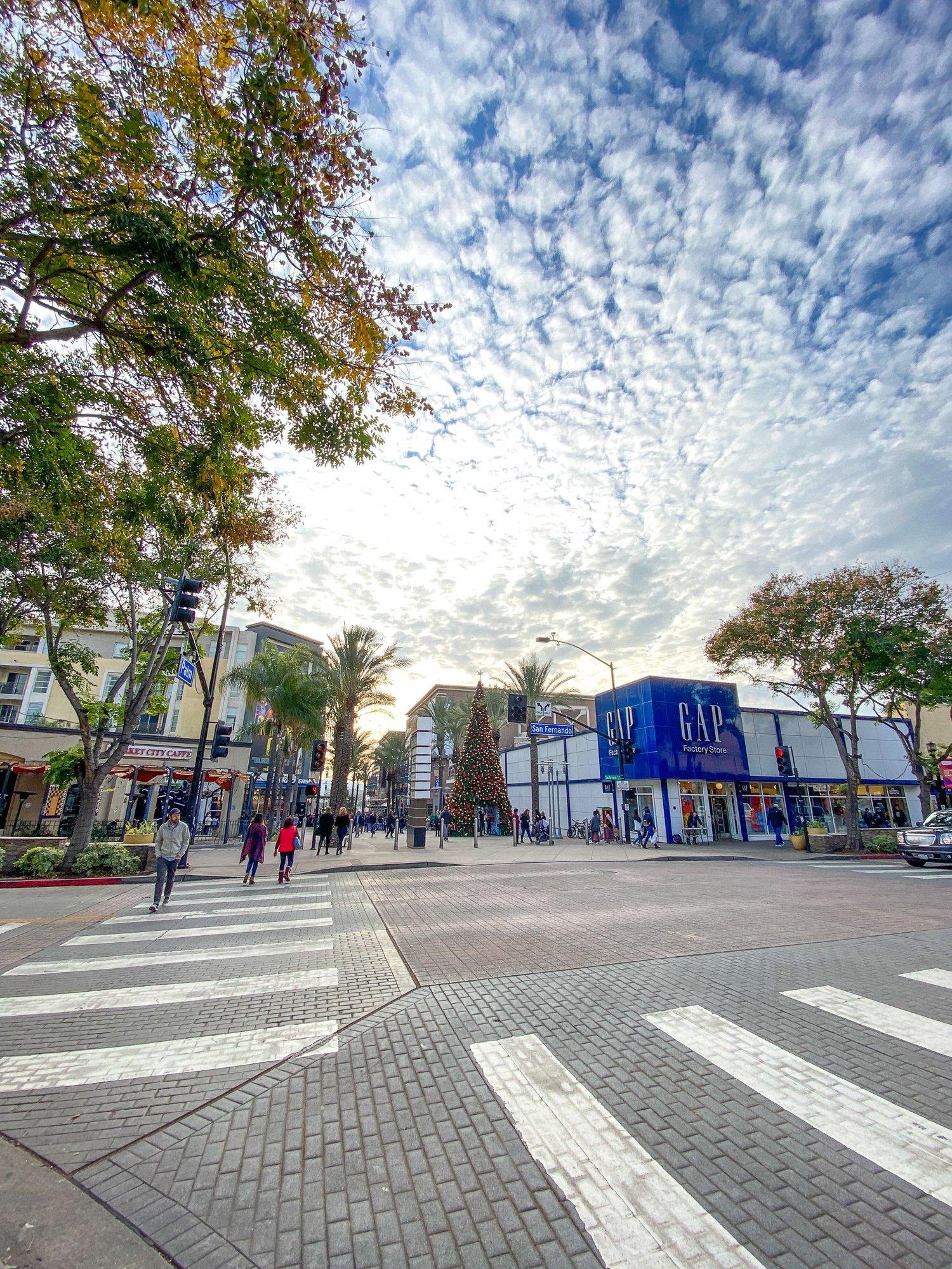 Downtown Burbank, California