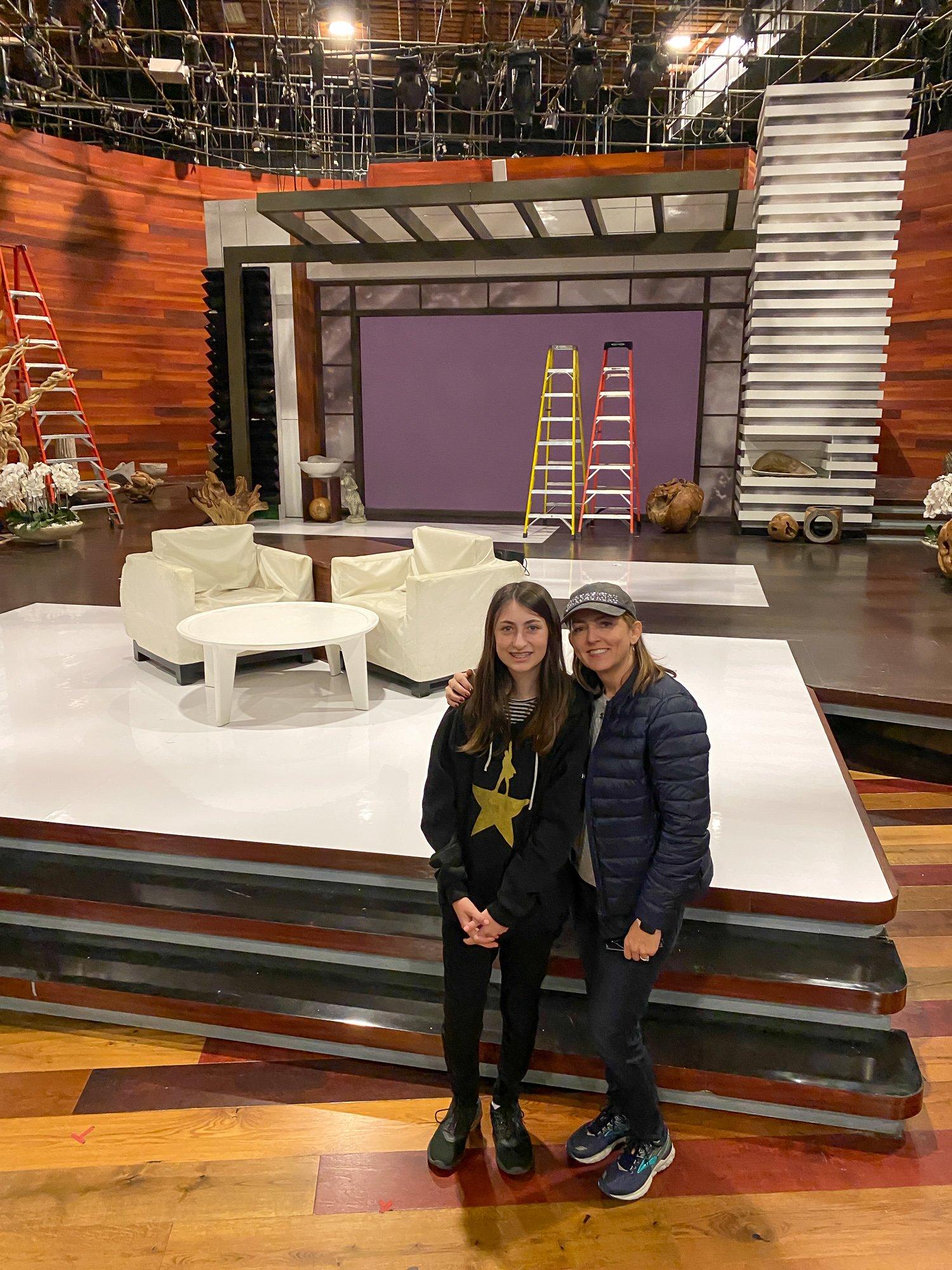 """""""Ellen"""" set at Warner Bros. Studio"""