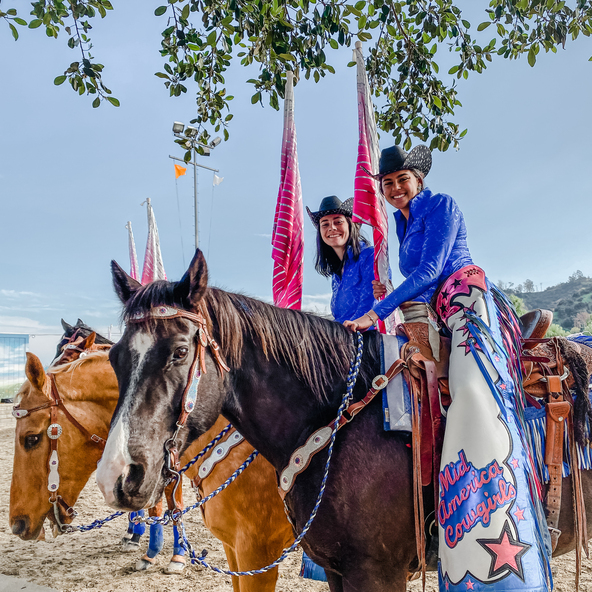 Tournament of Roses EquestFest performers at Los Angeles Equestrian Center