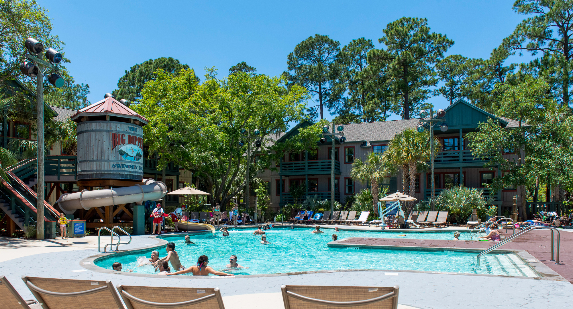 The Big Dipper Pool at Disney's Hilton Head Island Resort