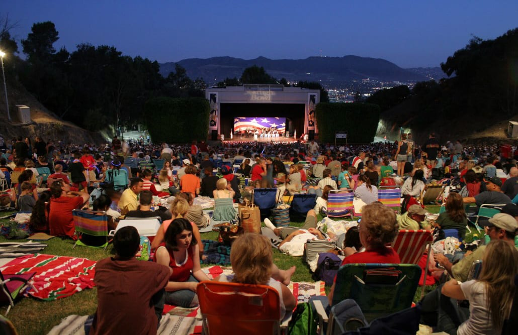 Concert at the Starlight Bowl in Burbank