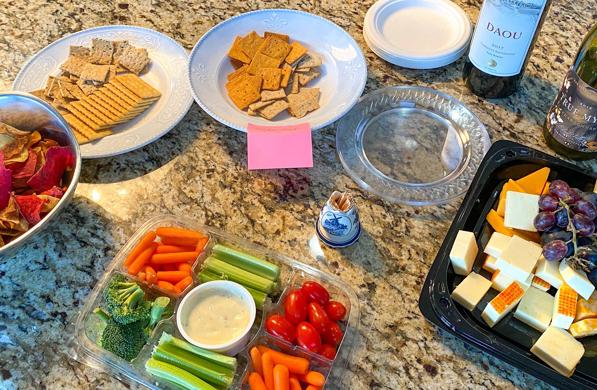 Keep snacks simple at your party