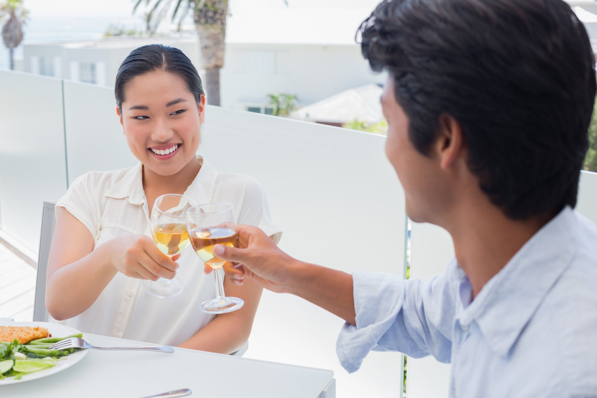 Toast your honey on your balcony or patio
