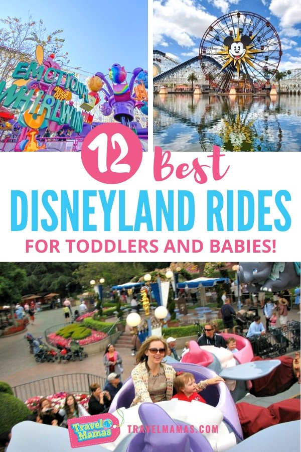 Best Disneyland rides and attractions for toddlers, babies and preschoolers
