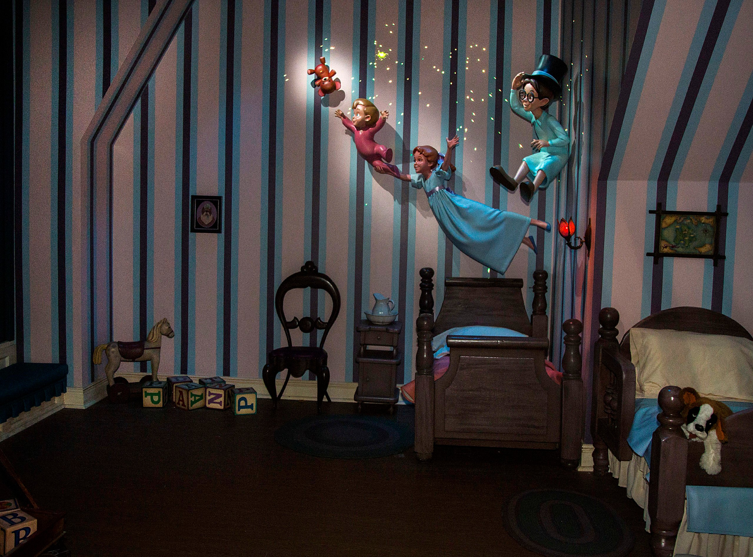 Peter Pan's Flight at Disneyland