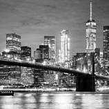 New York, New York at night