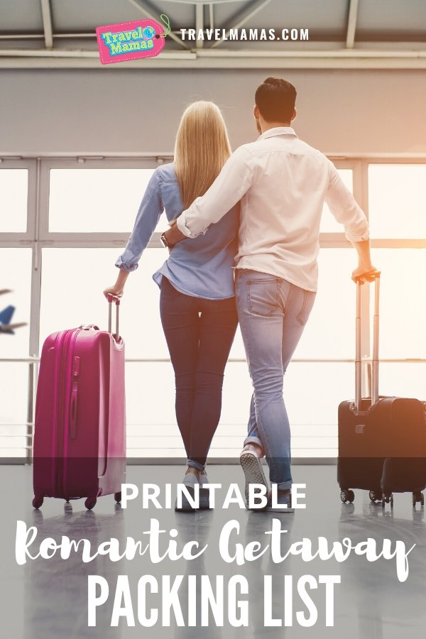 Free Printable Romantic Getaway Packing List for Couples