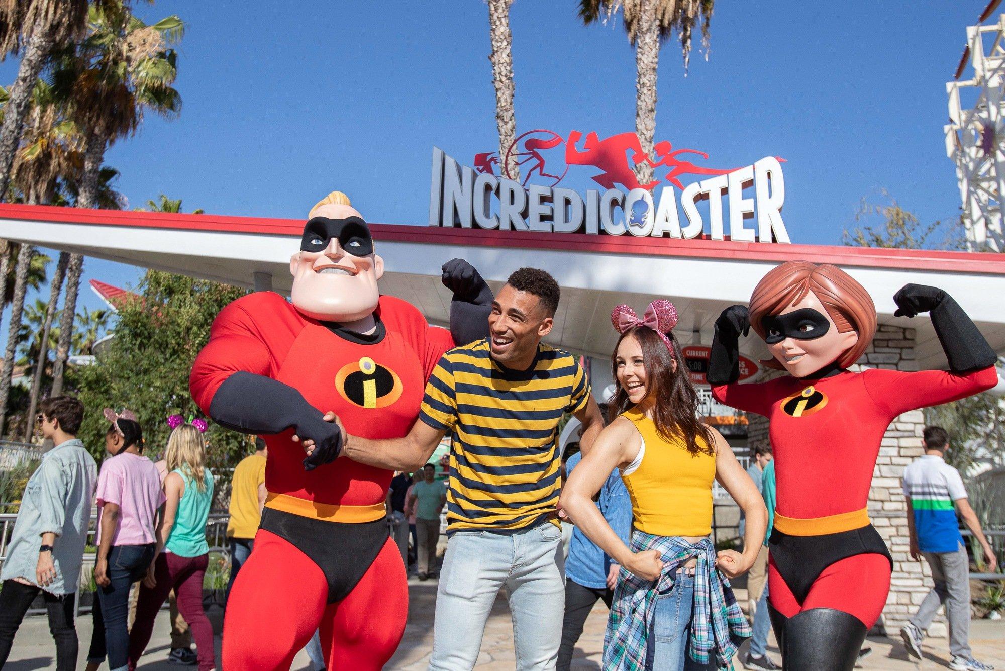 Disneyland with teens