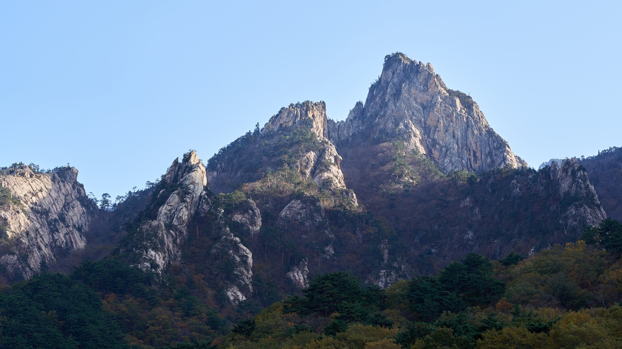 Taebaek Mountain Range Seoraksan National Park