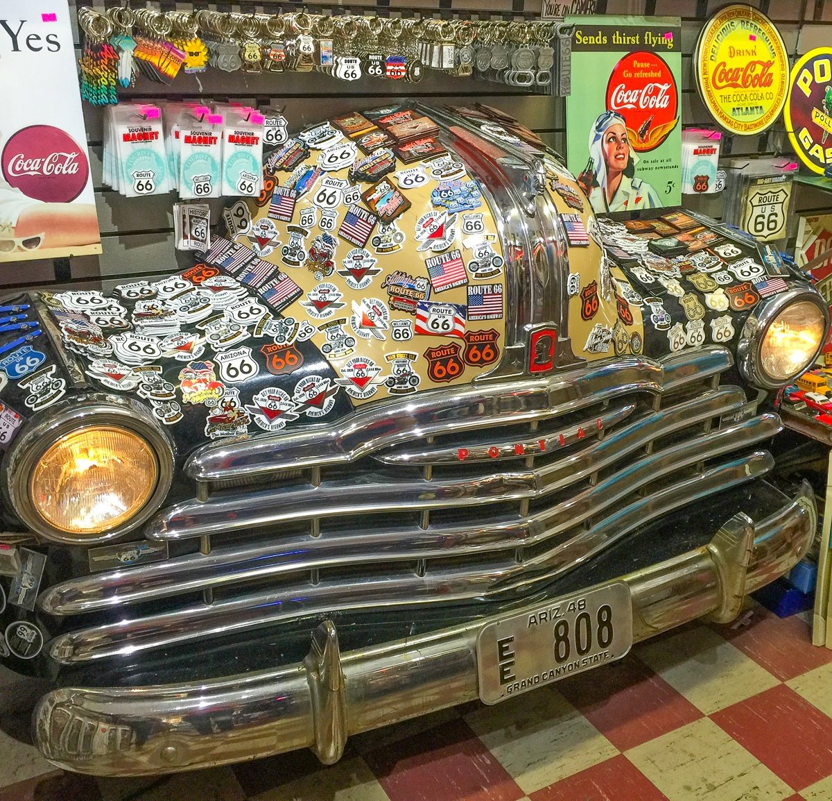Route 66 souvenirs for families