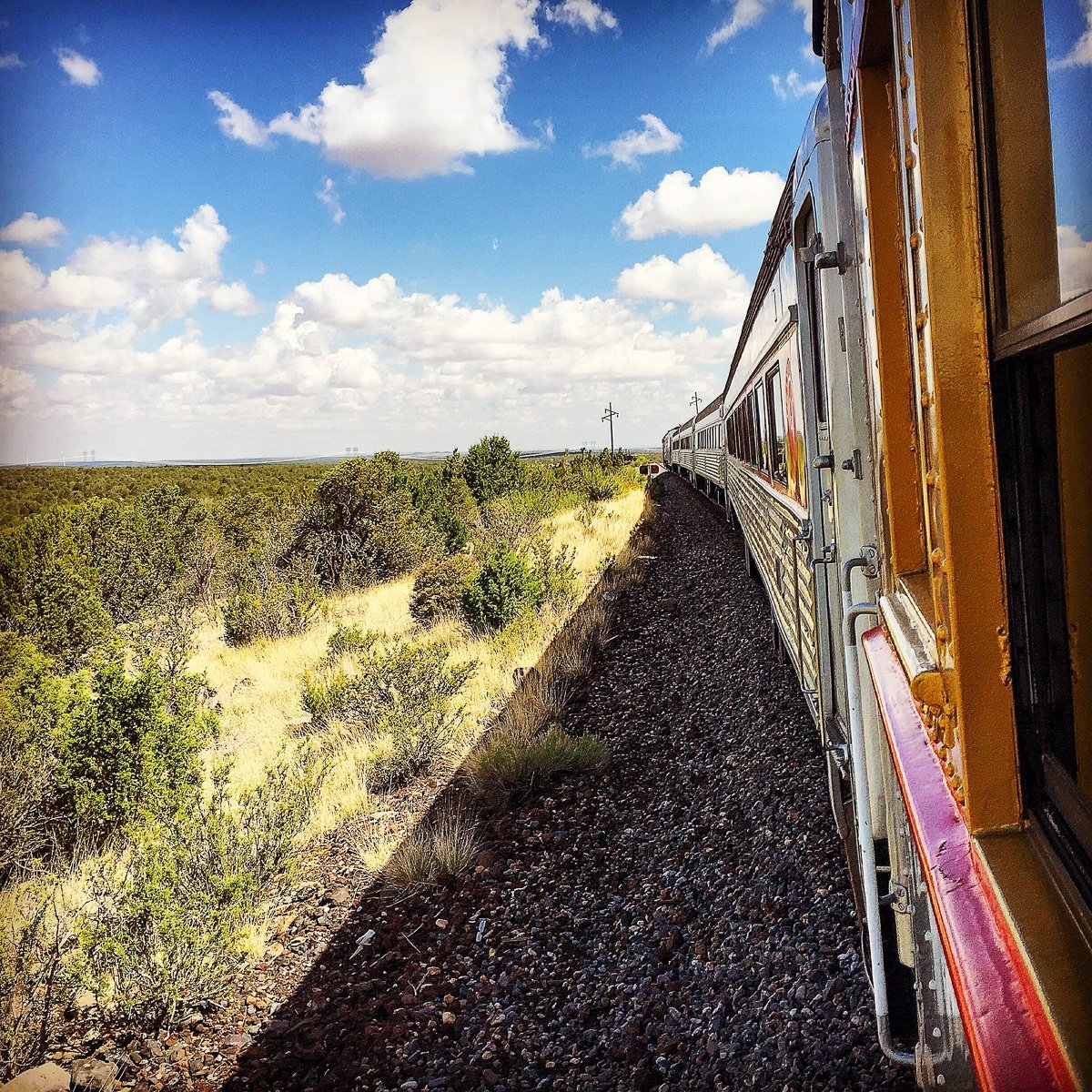 Chug your way to the canyon via the Grand Canyon Railway